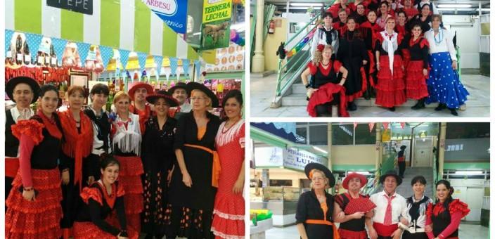 Feria de Abril en el Mercado El Fontán