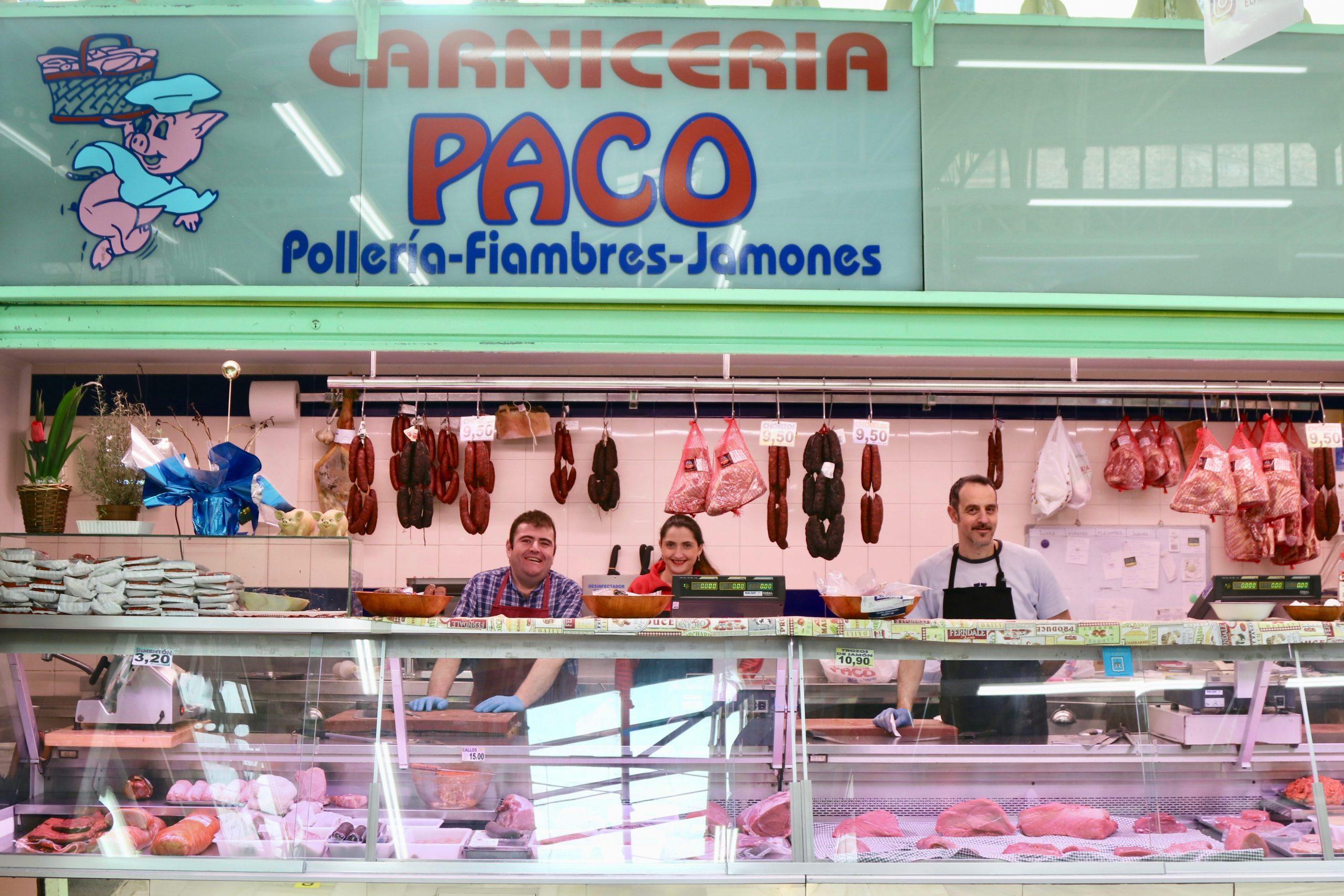 Carnicería Paco en el Fontán