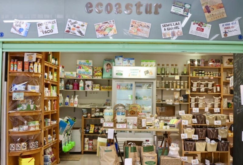 Ecoastur, productos ecológicos en El Fontán