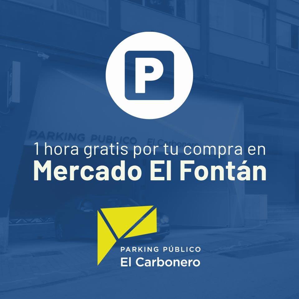 Parking gratis por tu compra en Mercado El Fontán