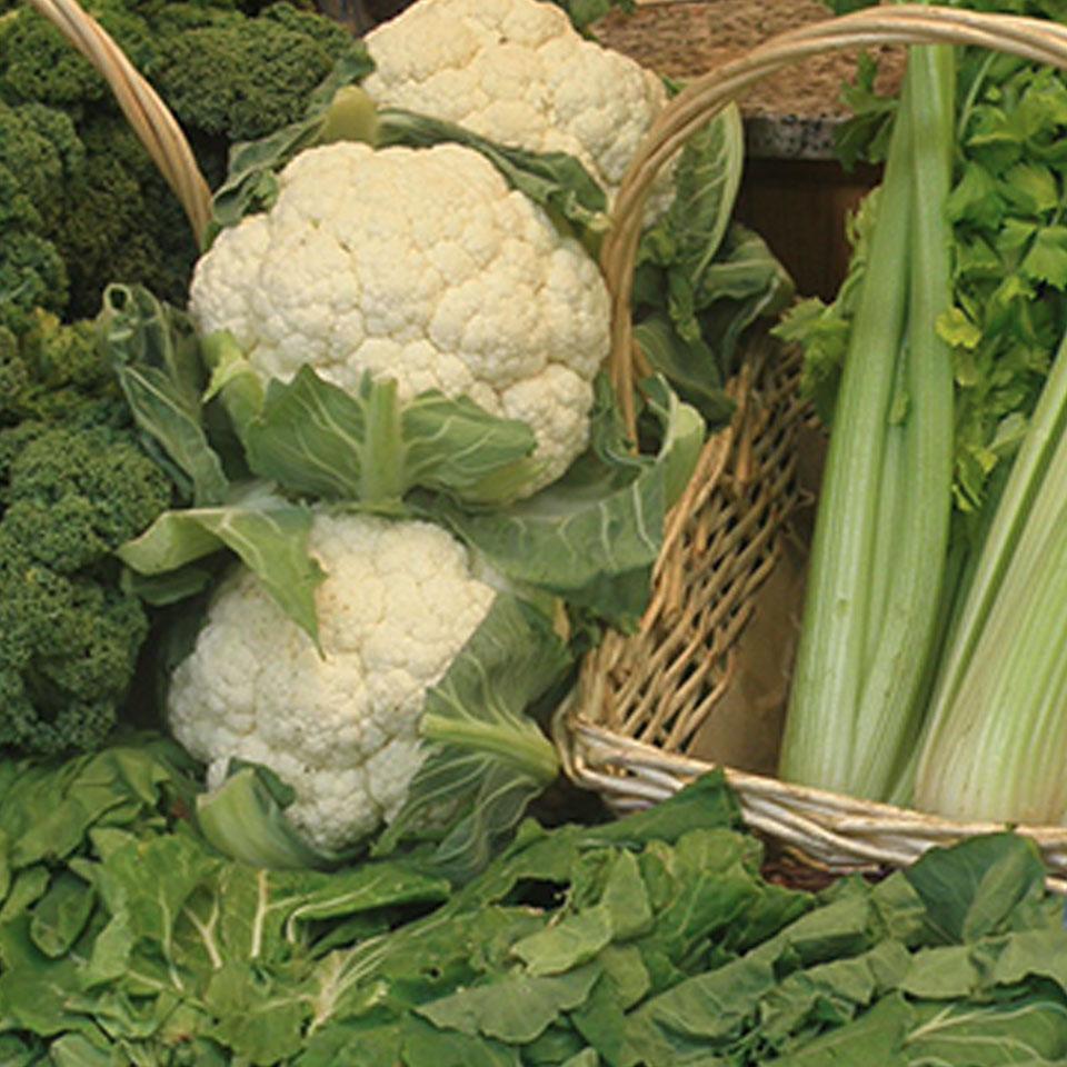 Puestos de verduas y frutas ecológicas del Mercado El Fontán